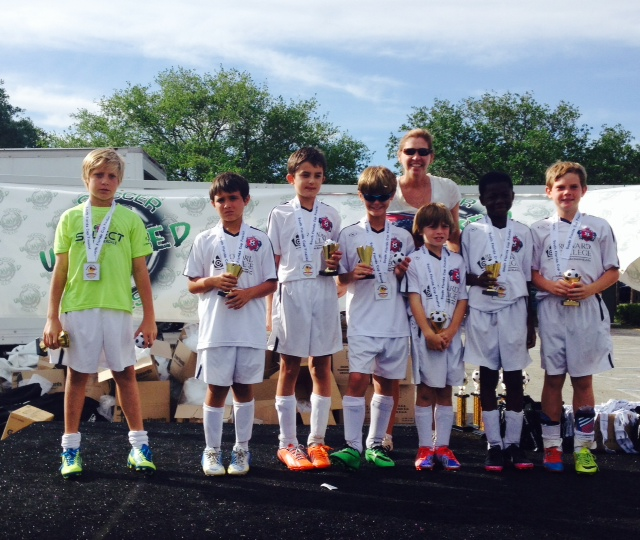 U10 Boys Blue SF Cup
