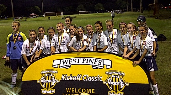u12 girls west poines
