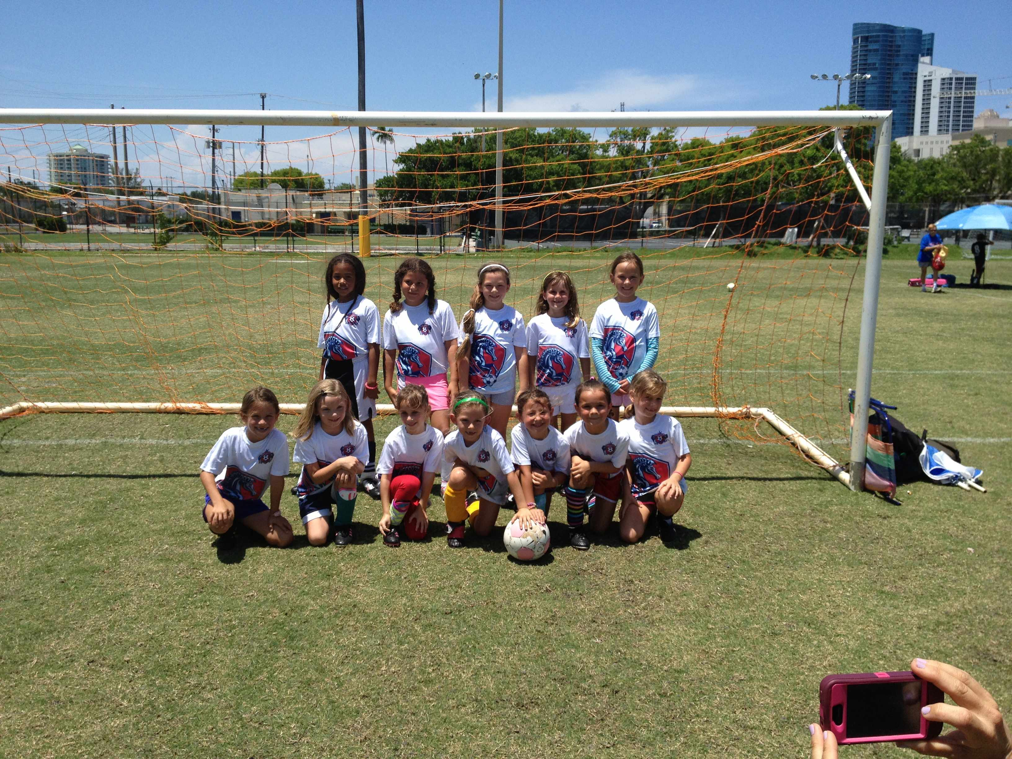 U7-8 Girls Spring 3v3 12-13