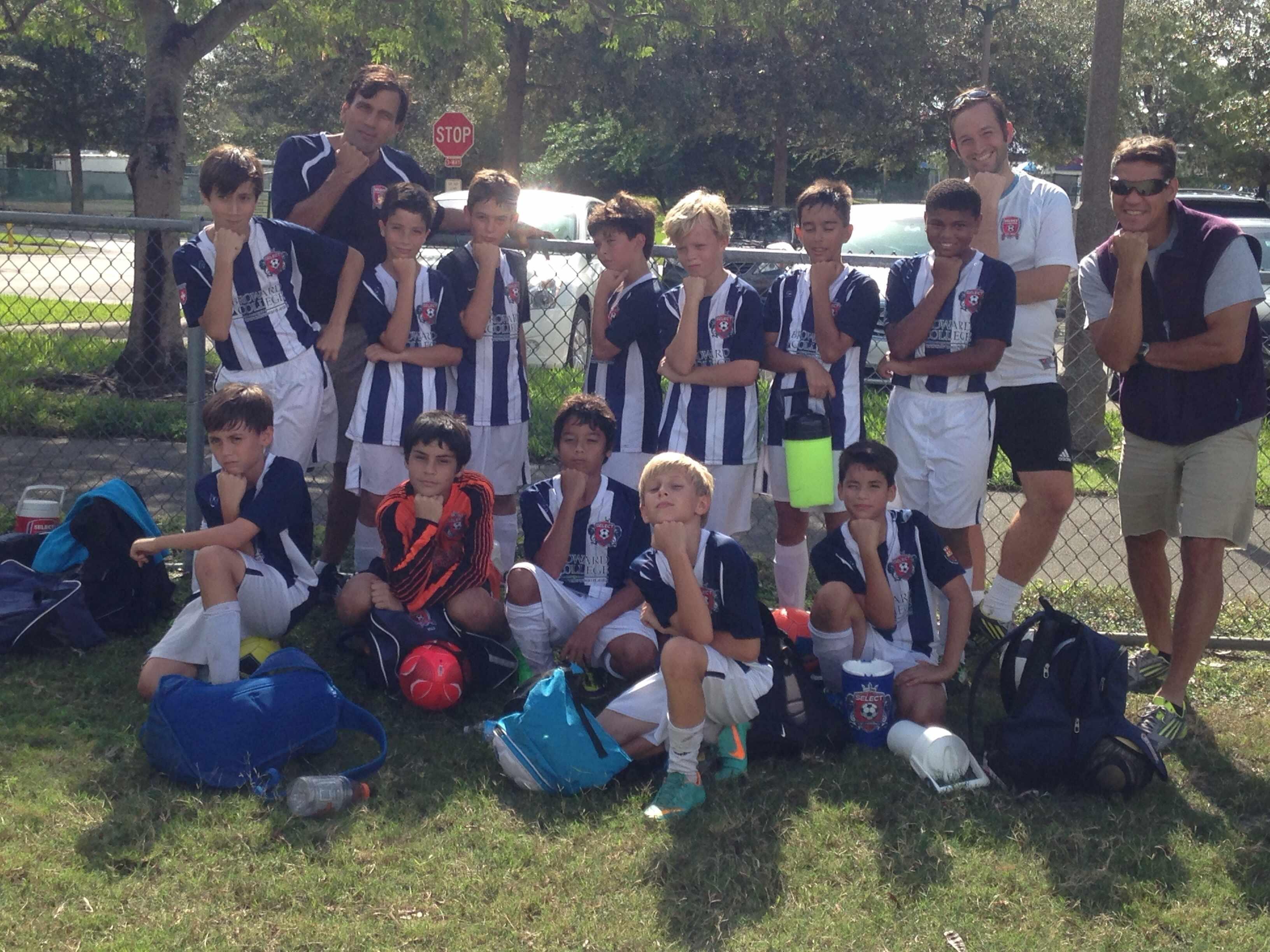 U12 Boys Region Cup