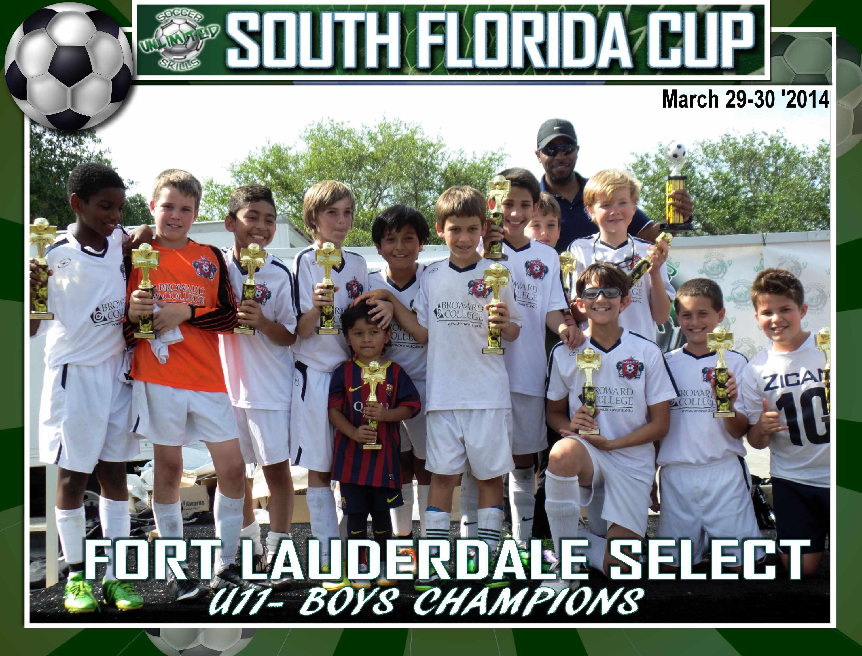 U11 Boys SF Cup