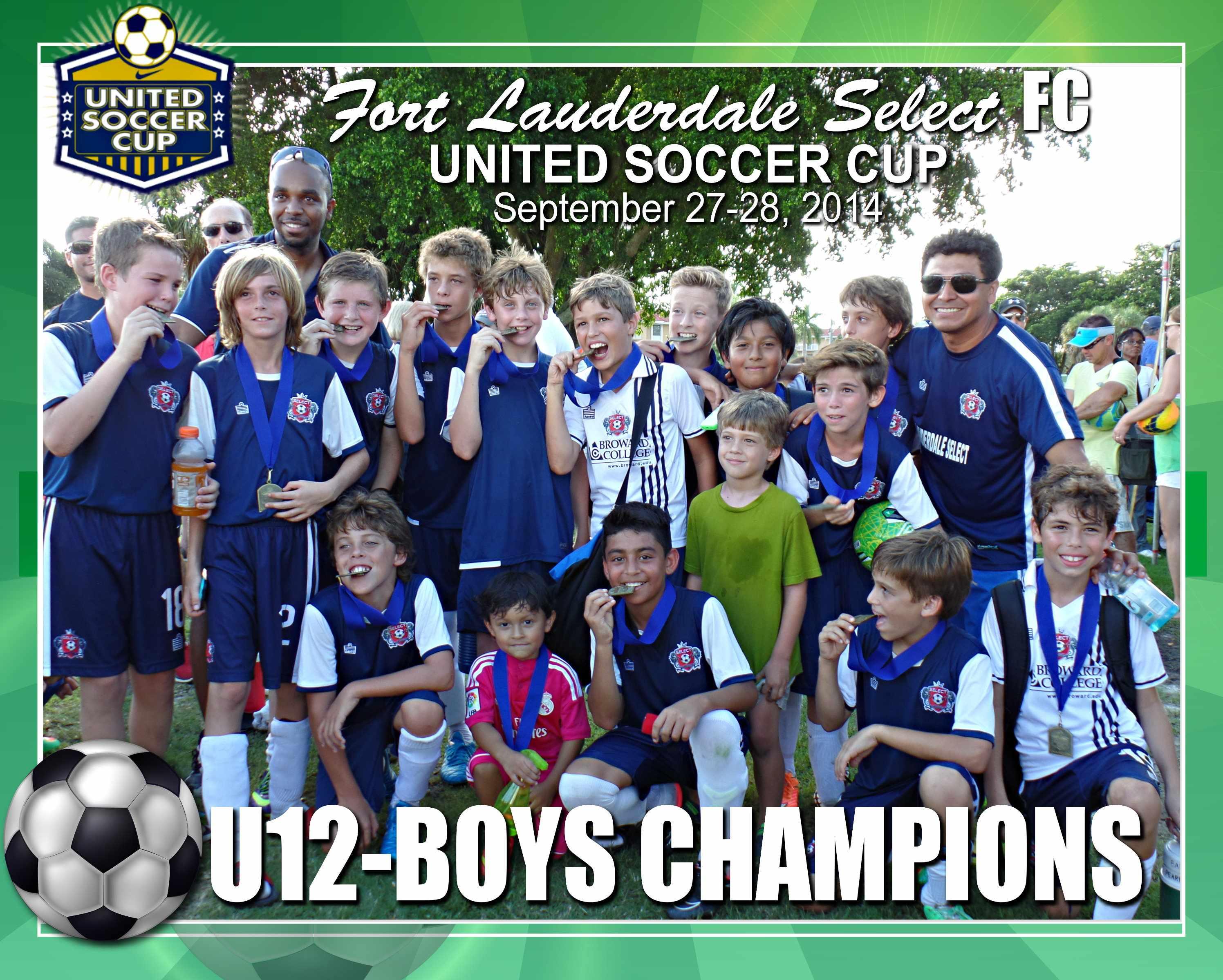 U12 Boys United Cup