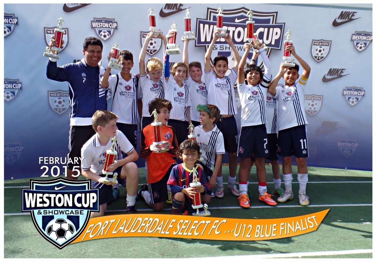 U12 Boys Weston Cup
