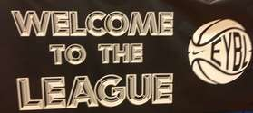 WELCOME TO THE LEAGUE