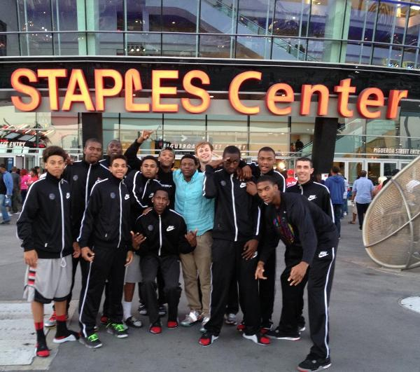 GROUP PIC AT STAPLES