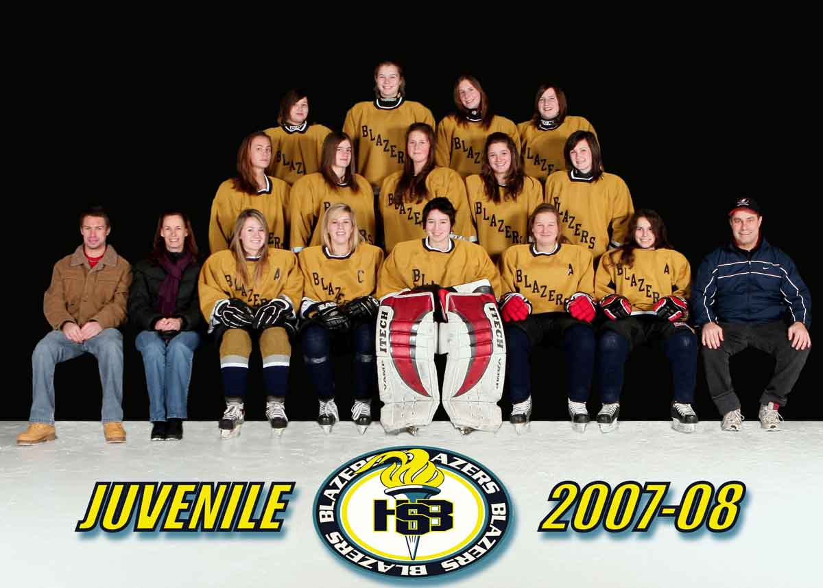 Howard S. Billings Blazers Juvenile Girls Hockey