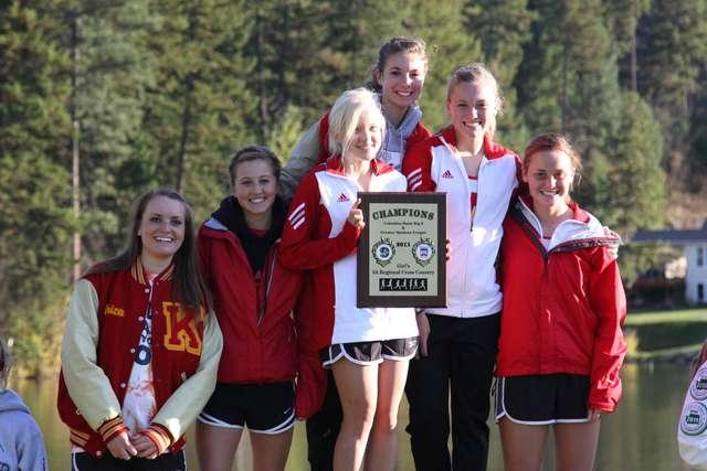 2011 KaHS Women - Regional XC Champions