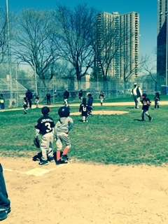 T Ball Players Game