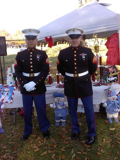 TOY'S FOR TOT'S MARINES