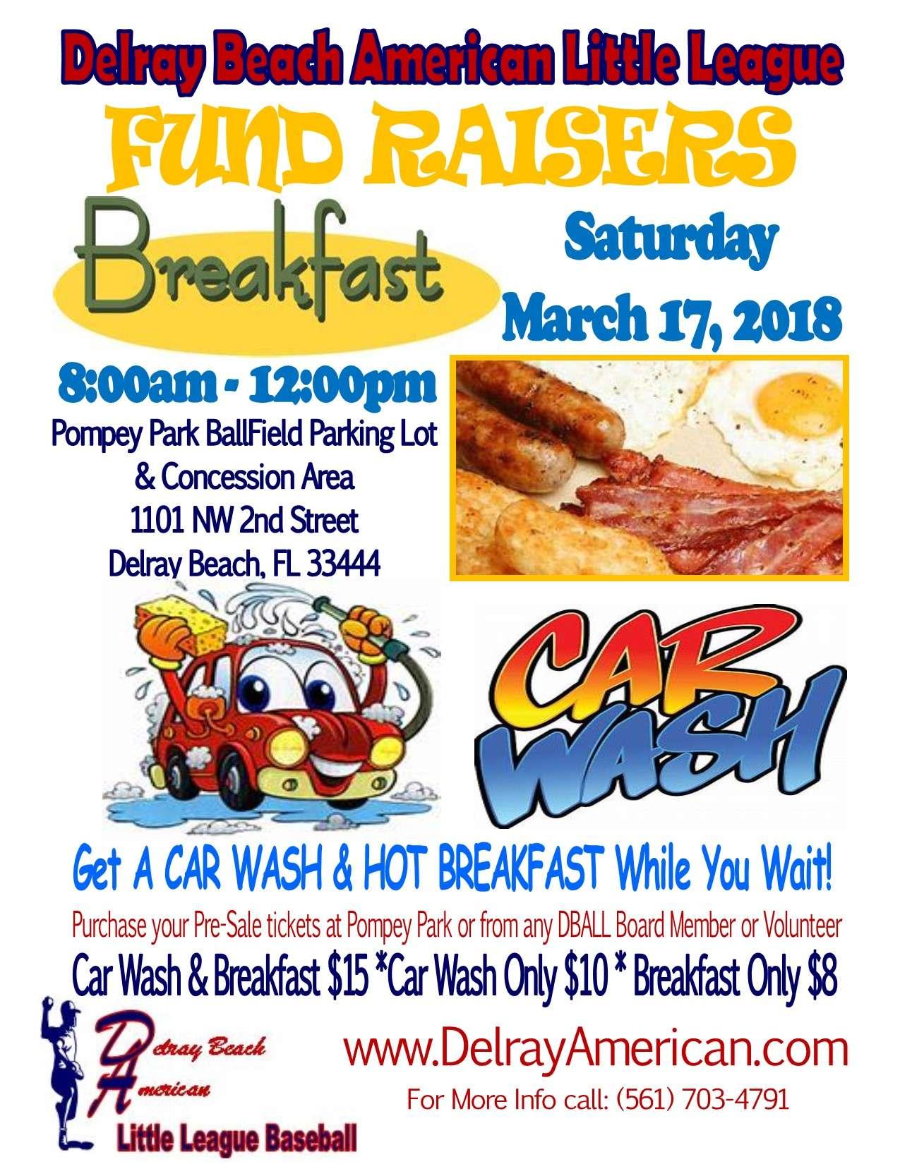 Breakfast Carwash