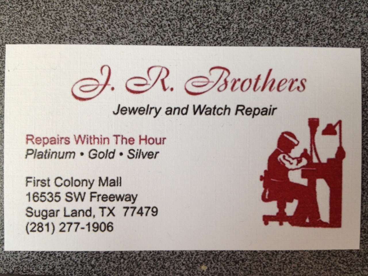 J.R. Brothers Jewelry and Watch Repair