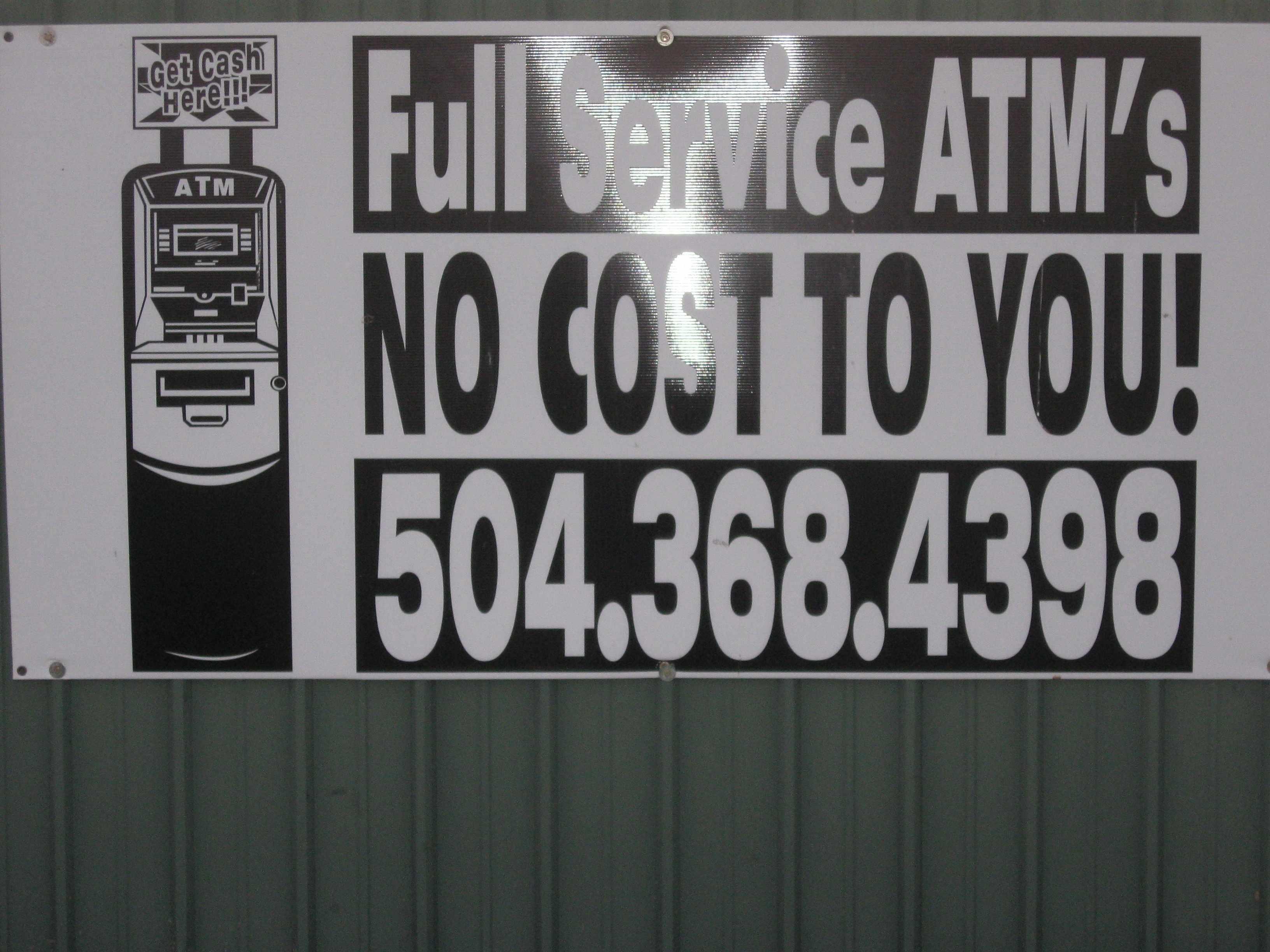 Full Service ATM