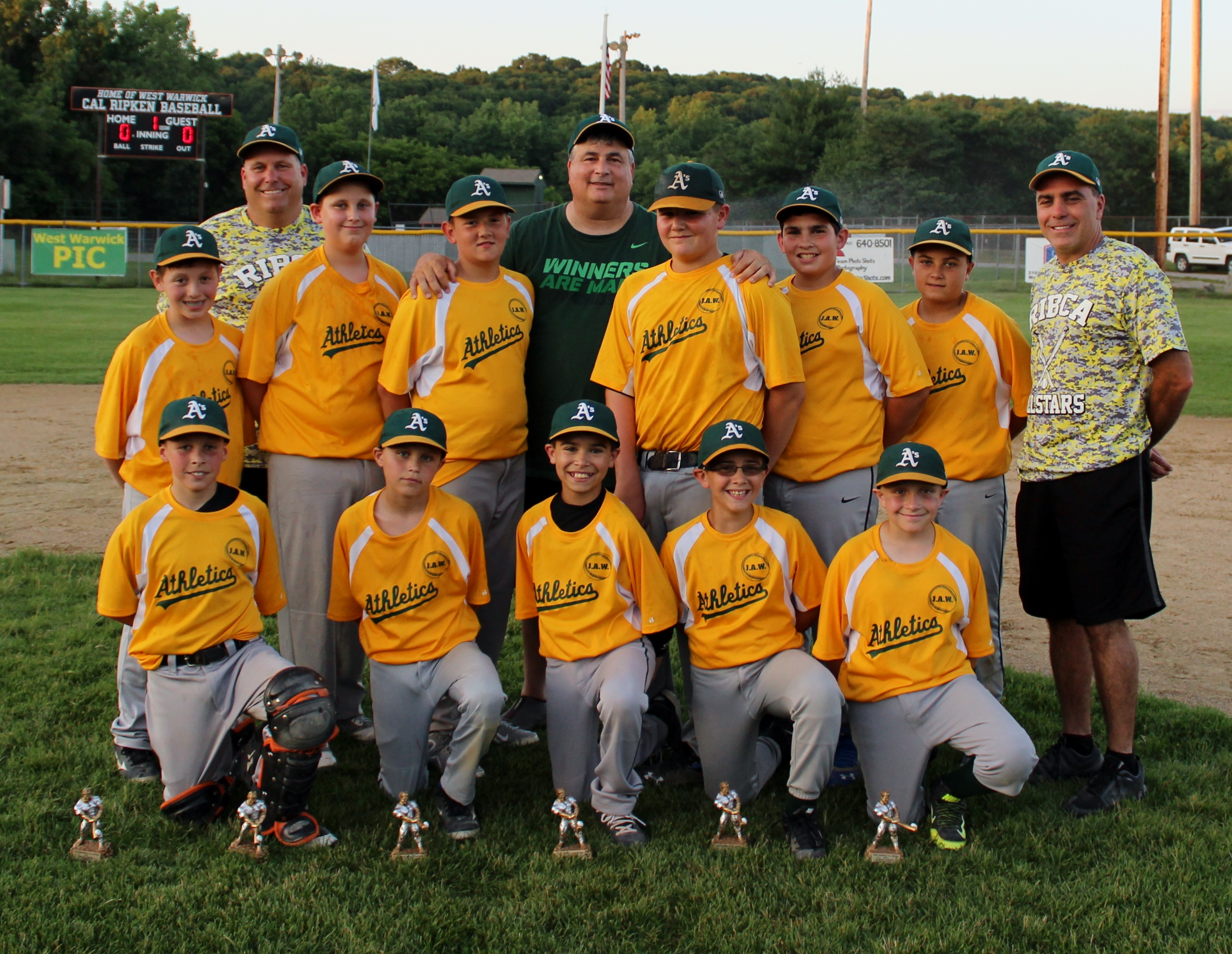 Teampages Wizards Baseball Ww Pic Athletics Win Third Consecutive Wwcrl Championship