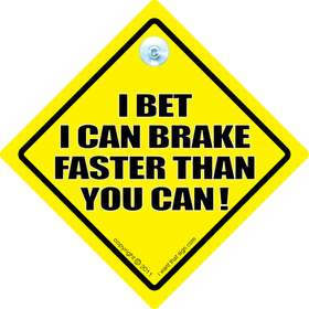 i can brake sign