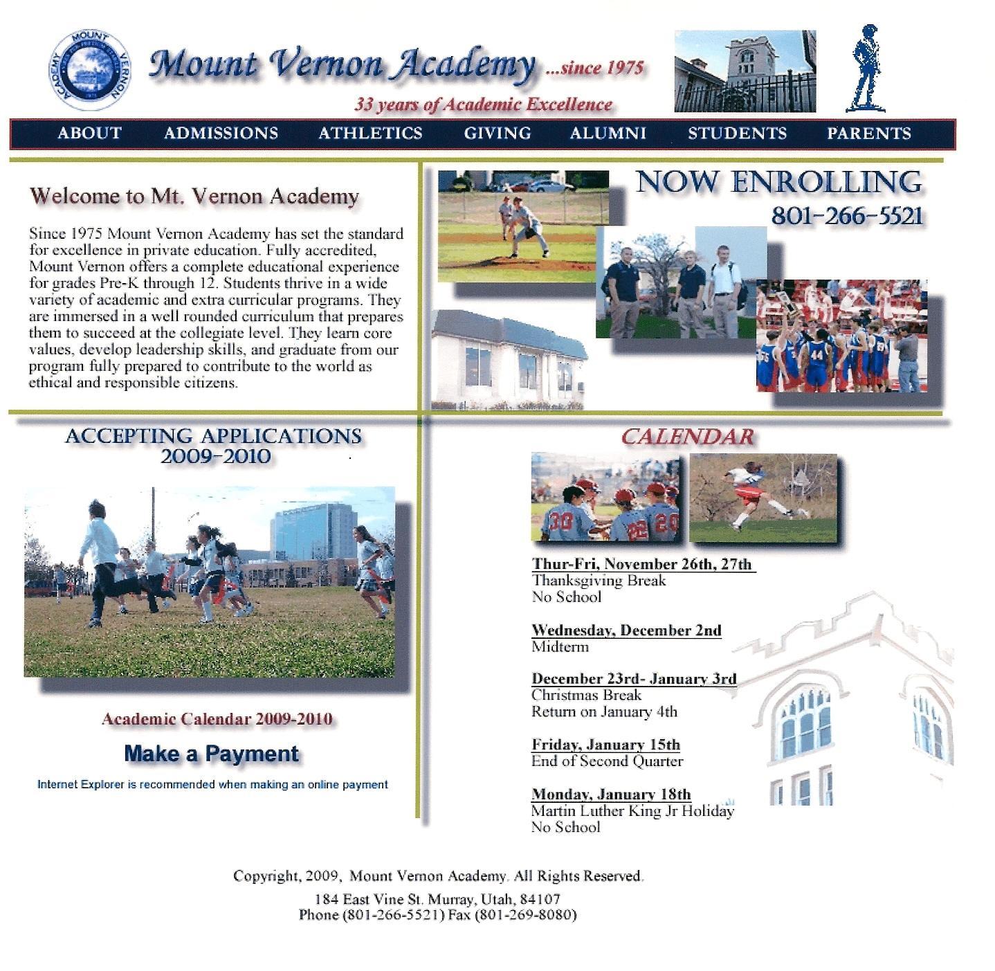 Mount Vernon Academy