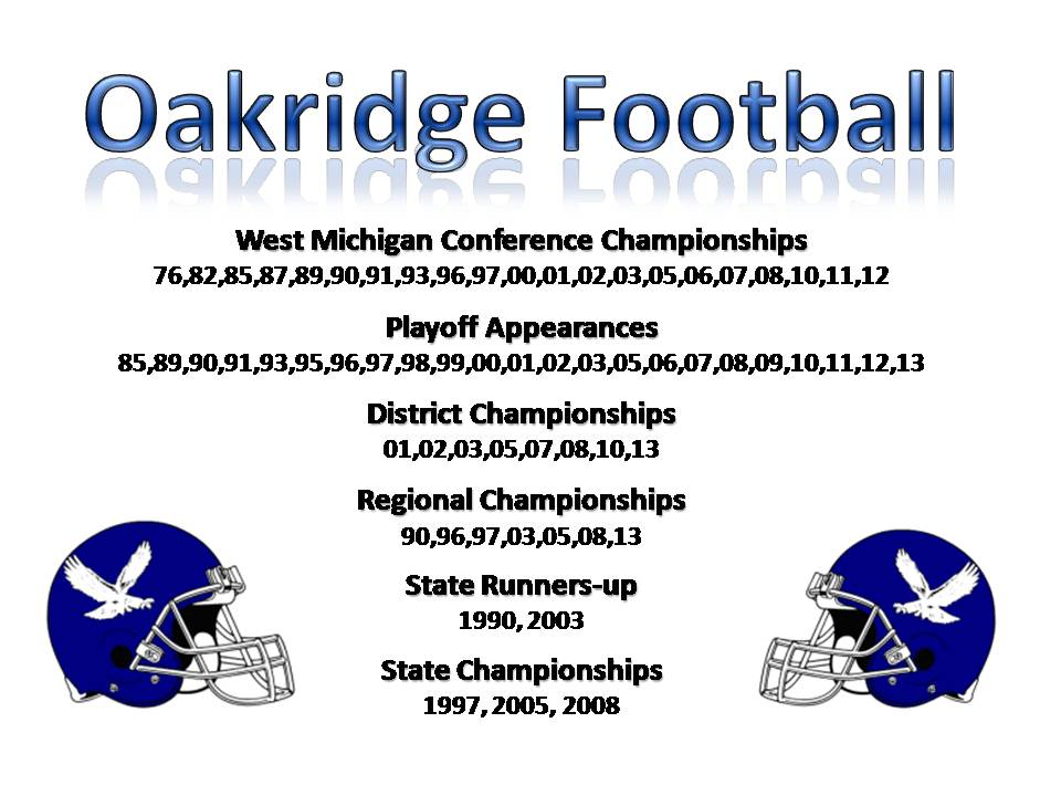 OAKRIDGE FOOTBALL