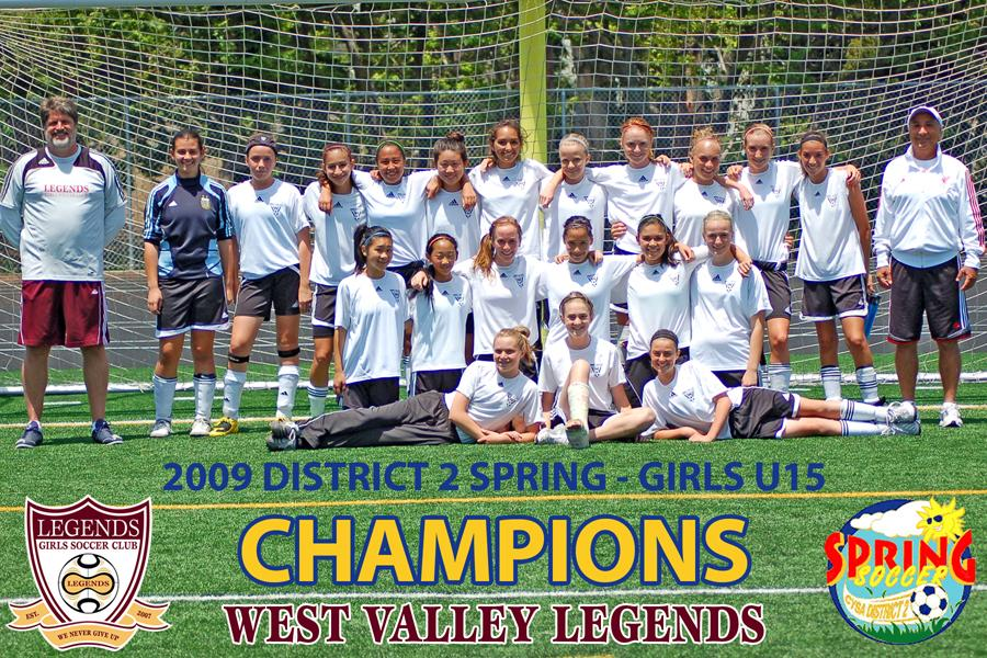 champs spring 2009