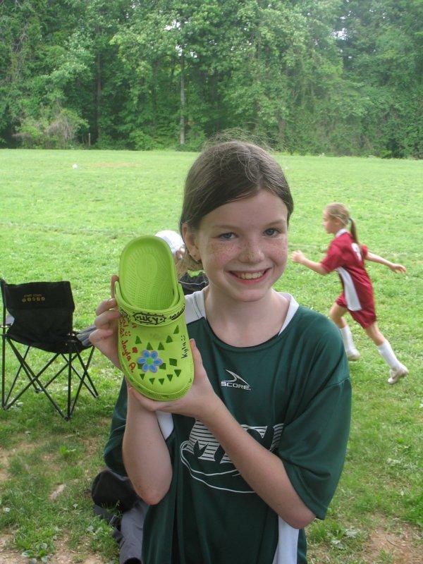 Rachel with Croc 09