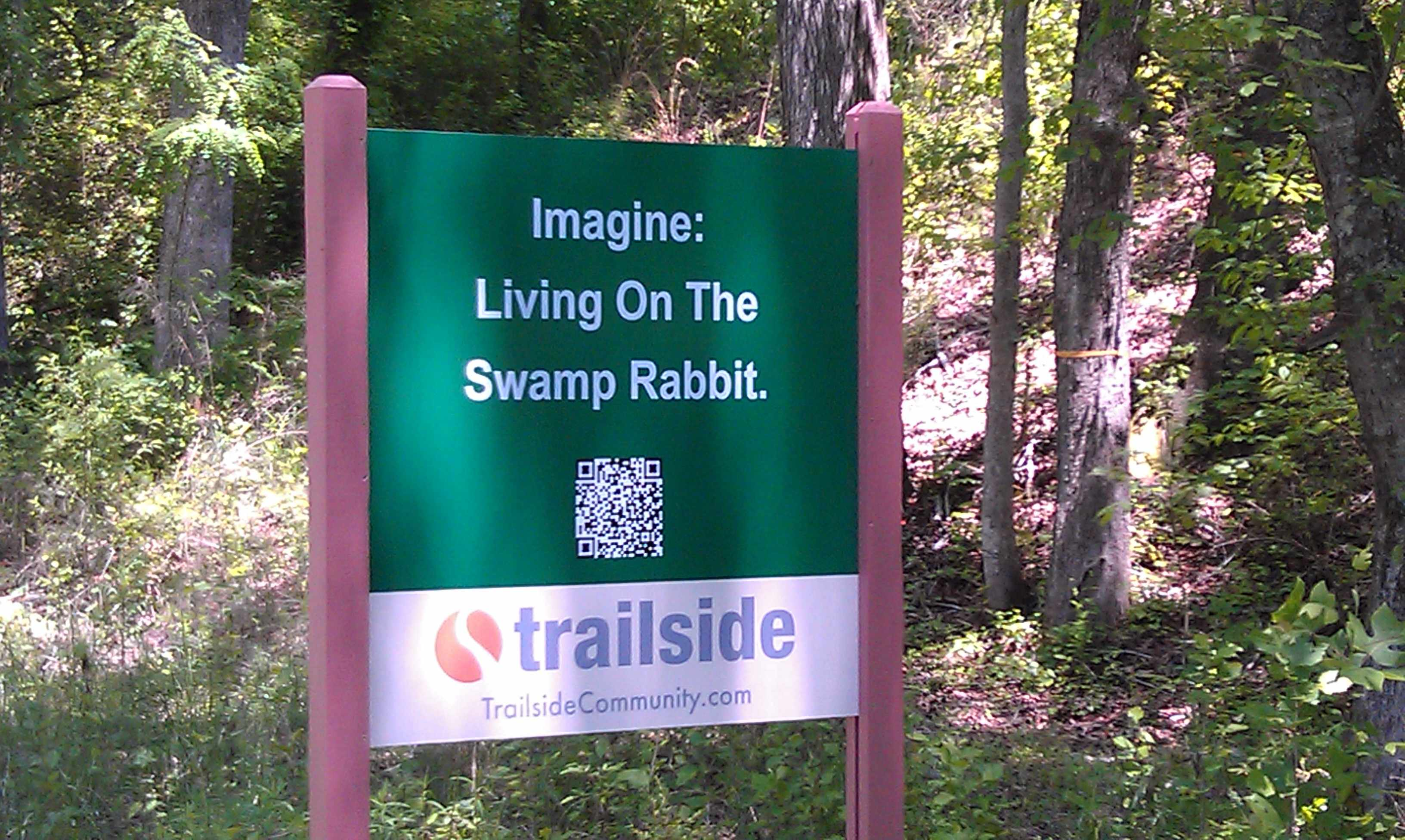 Living on the Swamp Rabbit