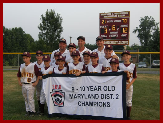 2010 9-10 DISTTRICT CHAMPS