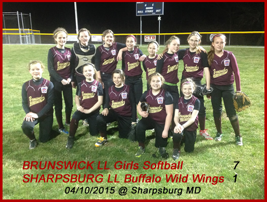 2015 9-12 girls softball