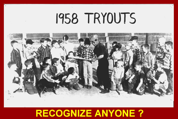 1958 TRYOUTS