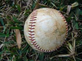 baseballs and springtime