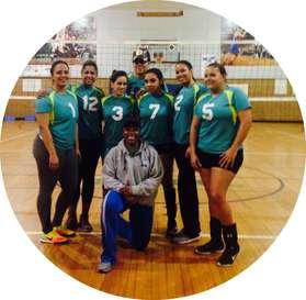 2016-2017 Women's Volleyball Champions