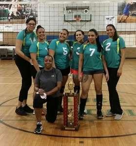 2016-17 Women's Volleyball Champions