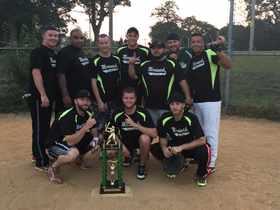 2015 Men's Softball Champs - Bombers