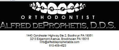A DeProphetis DDS Logo