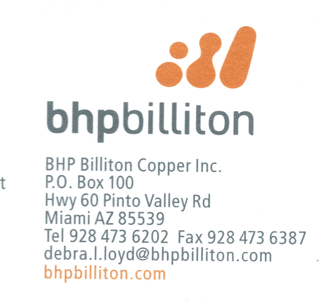 BHP Billiton Copper Inc