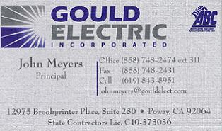 Gould Electric x