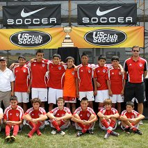 U13 boys 8-11