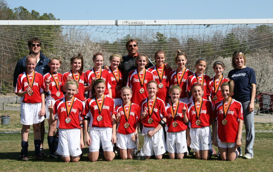 2009 U12 Jefferson Cup Champions