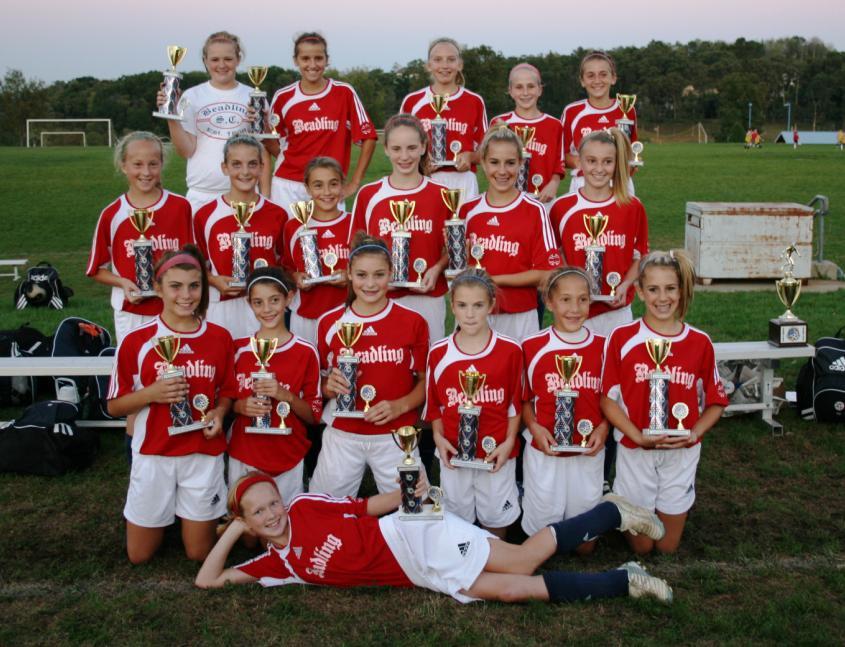2008 American Cup U12 Girls Champions