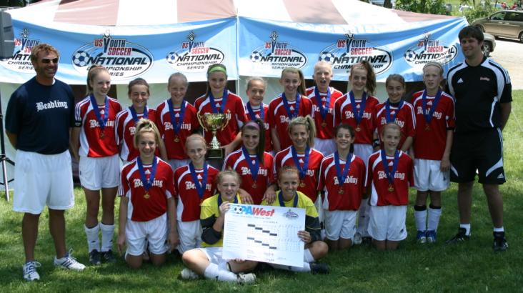 09 PA West State Cup Champs