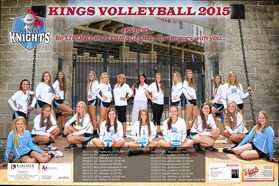2015 Kings Volleyball