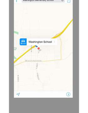 Washington Elementary Map
