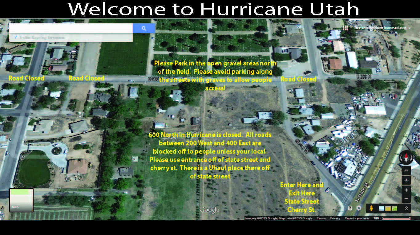 Hurricane Parking Map