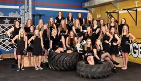 Ice Bears Team Picture - Black Dresses