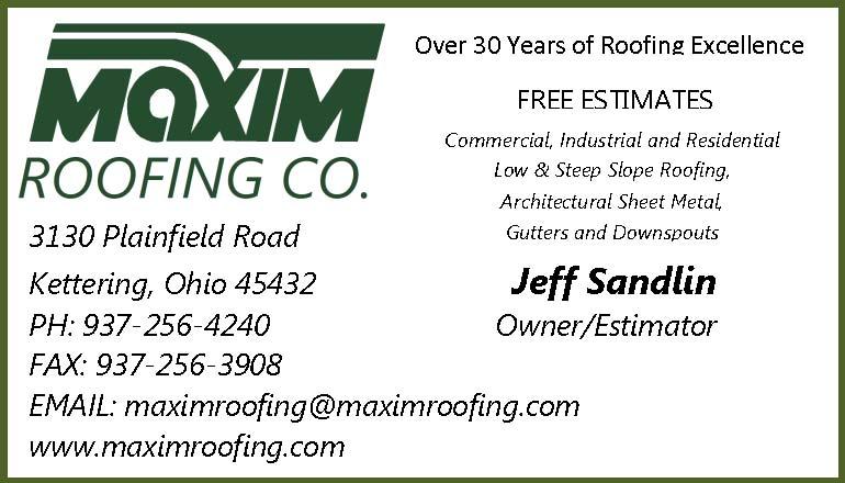 maxim roofing