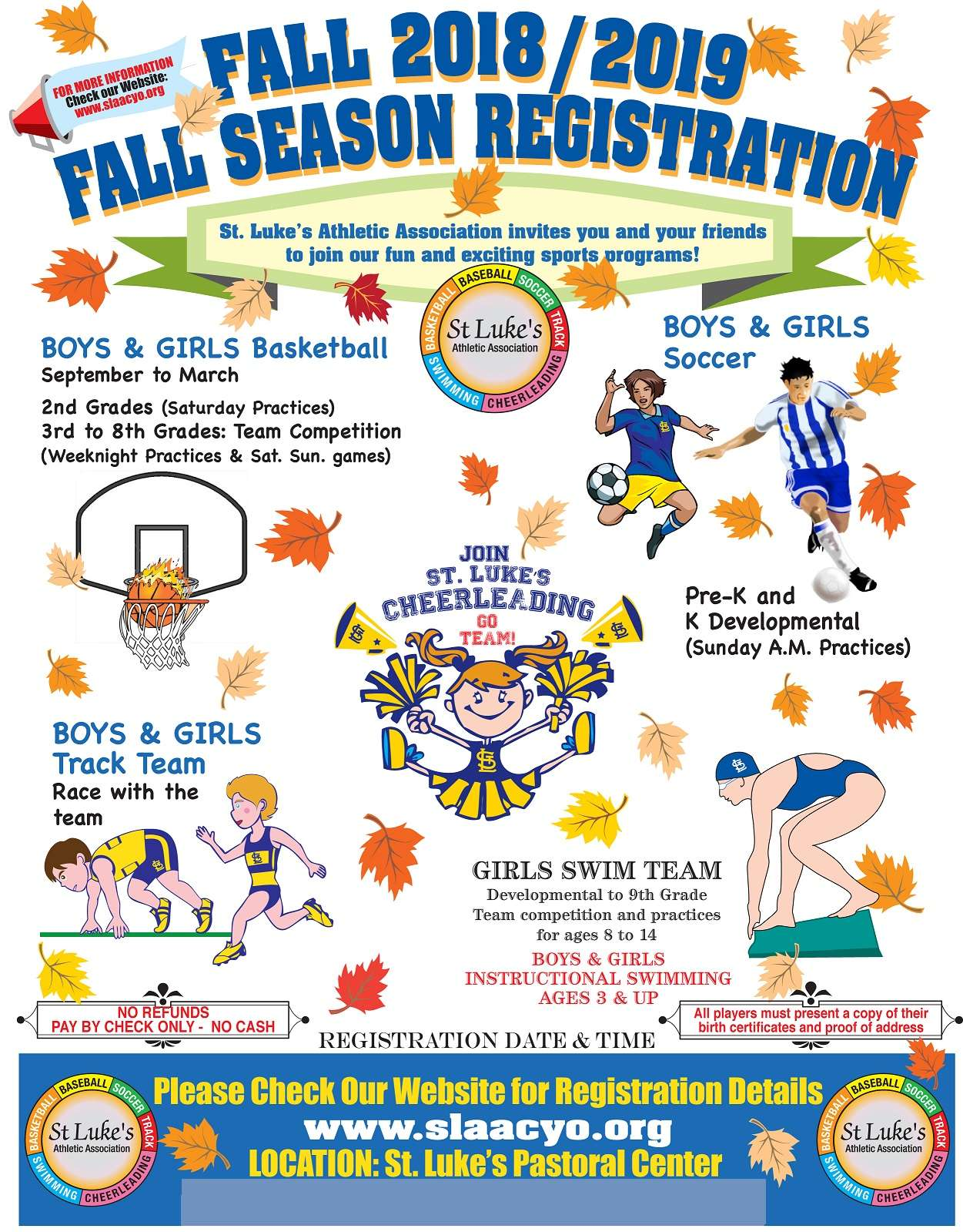 Fall Flyer 2018 New