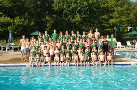 2013 Fox Hall Swim Team
