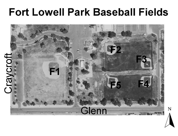 Ft lowell park ramada map