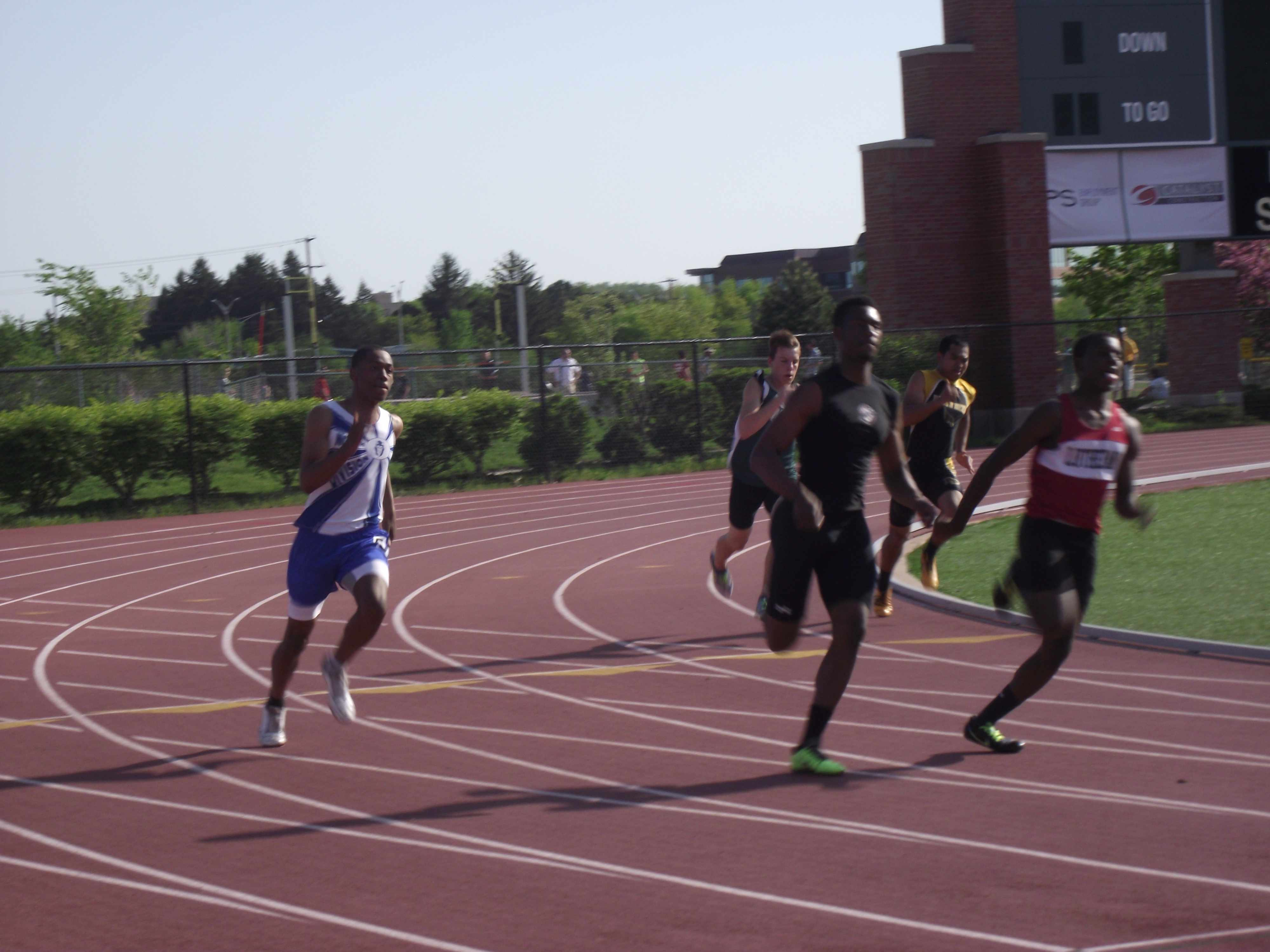 2013 Track Sectionals B