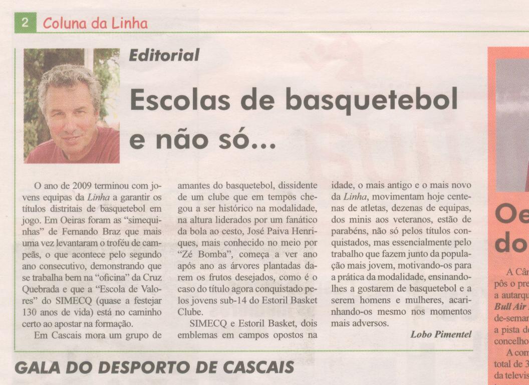 Editorial Linha Desportiva 08Jan2010