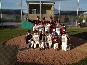10U LIghtning 2013 Yakima 2nd Place