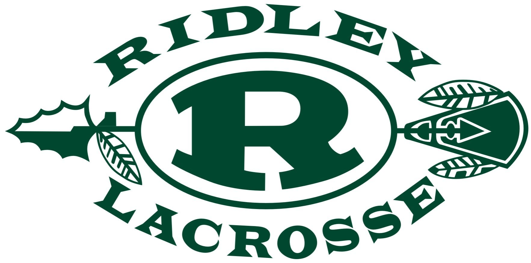 Ridley Lacrosse Logo - Green Letters