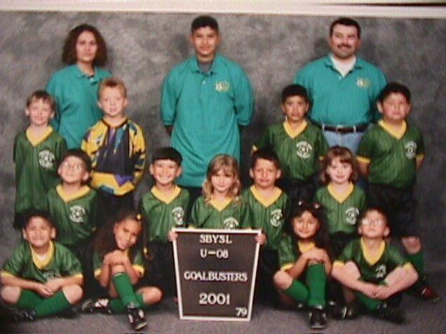 2001 Goal Busters U-8.